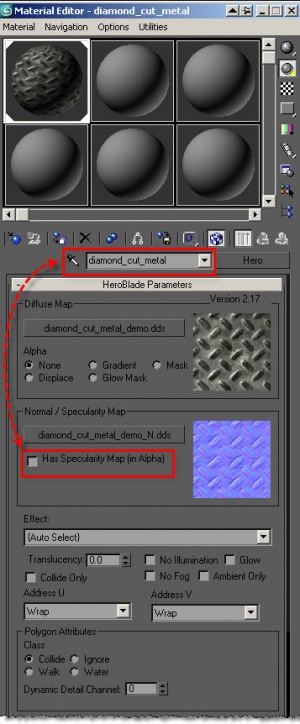 3dsMax, specular is turned off