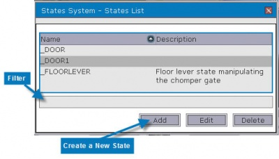 Create a State Using the GUI