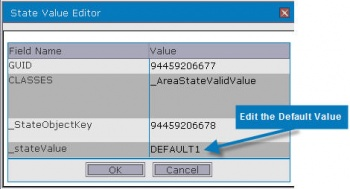 Edit Default Value Name